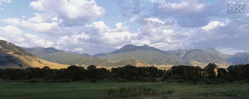 9X Media - 1280 - Dual Horizontal - mountains-clouds